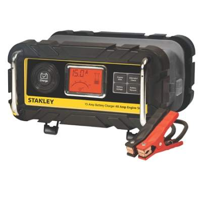 15 Amp Battery Charger with 40 Amp Engine Start BC15BS