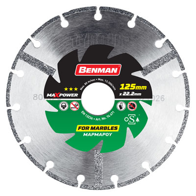 DIAMOND CUTTING DISC FOR MARBLE MAX POWER-2122