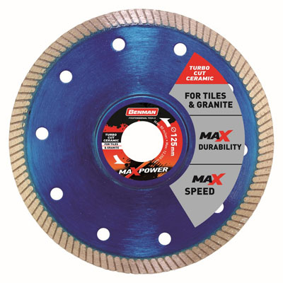 DIAMOND CUTTING DISC TURBO CUT CERAMIC MAX POWER-2121