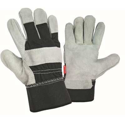 LEATHER-CLOTH GLOVES-2609