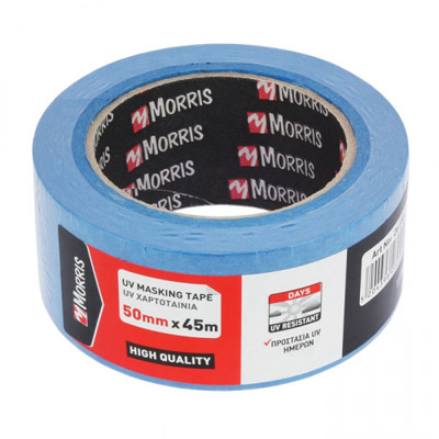 MASKING PAPER TAPE BLUE 14 DAYS-UV-0061
