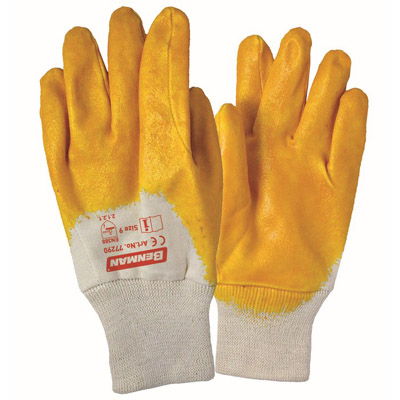 NITRILE (NBR) COATED GLOVES thickness 0.9mm-2607