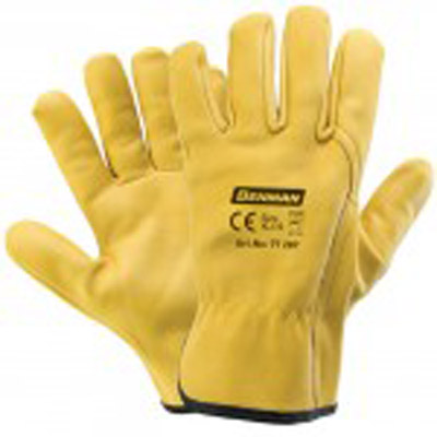 SUPER HEAVY DUTY LEATHER GLOVES-2619