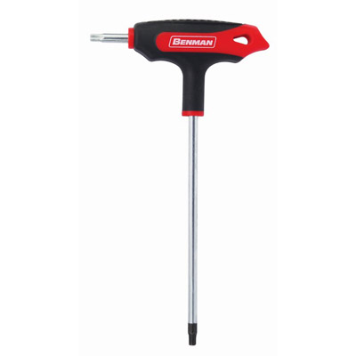 TORX T-HANDLE HEX KEY WRENCH WITH HOLE-0829